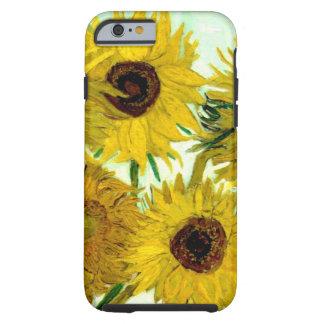 Fine Van Gogh Sunflowers Vintage Floral Tough iPhone 6 Case