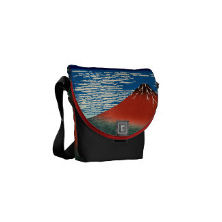 Fine Wind Clear Morning Messenger Bags