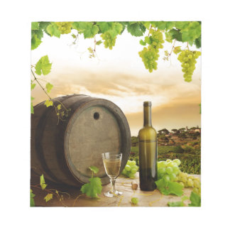 Fine Wine Notepad