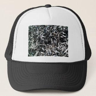fine wires filing trucker hat