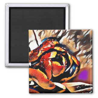 FineArt Colorful Tulip Magnet