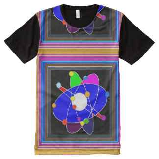 FineArt Graphics Atom Atomic Neutron alpha beta ga All-Over Print T-Shirt
