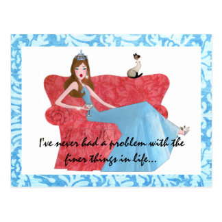 """""""Finer Things in Life..."""" postcards"""
