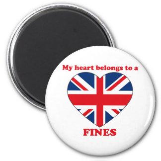 Fines Fridge Magnet