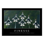 Finesse: Inspirational Quote Poster