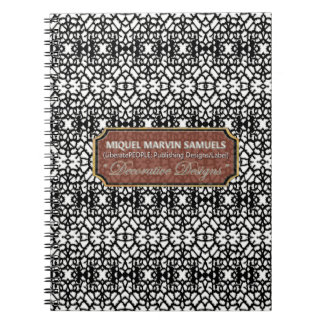 Finest Old Fashion Church Window Modern Notebook