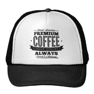 Finest Selection Premium Coffee Trucker Hats