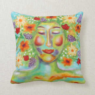 """""""Finest Thoughts"""" Art by Victoria Lynn Hall Cushion"""
