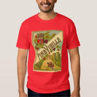 FineVieille Czech Wine T-shirts