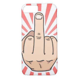 Finger Apple iPhone 8/7, Barely There Phone Case
