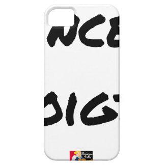 FINGER-BOWL - Word games - François City iPhone 5 Case