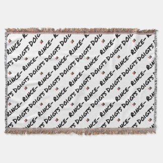 FINGER-BOWL - Word games - François City Throw Blanket