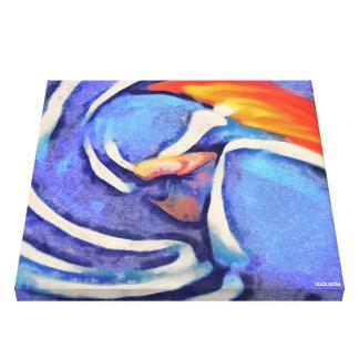 Finger Canvas Print