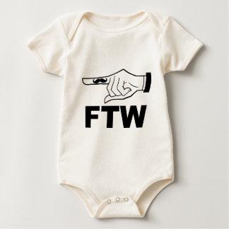 finger_FTW_Lt.png Baby Bodysuit