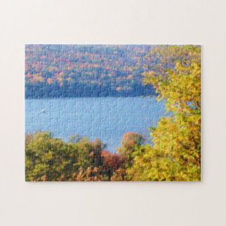 FINGER LAKES, CAYUGA LAKE puzzle