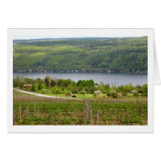 Finger Lakes Vinyard (Blank) Card