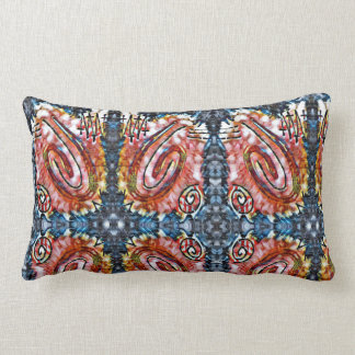 Finger Painting - Surrounded Lumbar Cushion