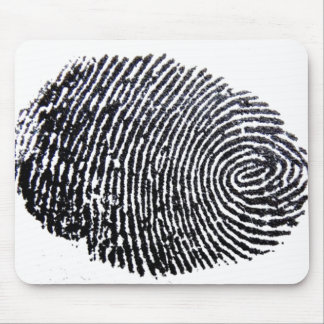 Finger Print Mouse Pad