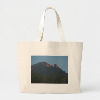 Finger Rock Sunrise Jumbo Tote Bag