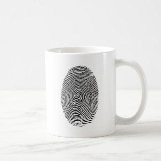 Fingerprint Coffee Mug