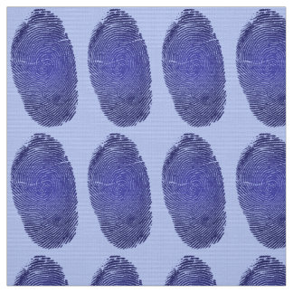 Fingerprint Graphic Fabric