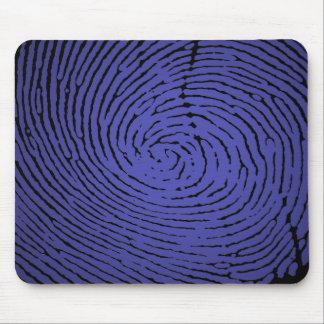 Fingerprint Graphic Mouse Pad