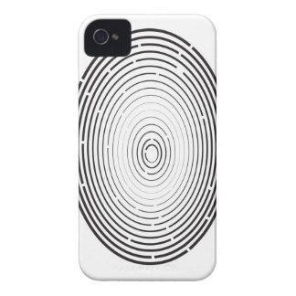 fingerprint icon iPhone 4 case