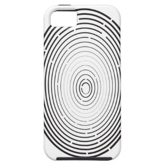 fingerprint icon iPhone 5 cover