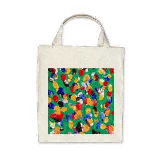 FINGERPRINT Organic Grocery Tote Bag