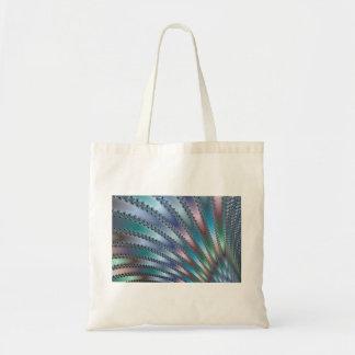 Fingers Fractal Art Budget Tote Bag