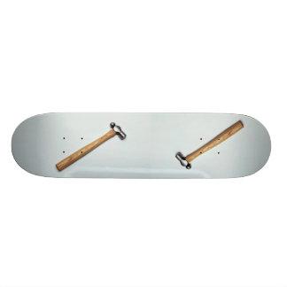 Finishing hammer for pounding skateboards
