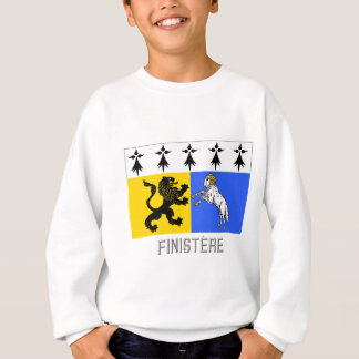 Finistère flag with name sweatshirt