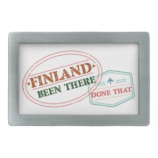 Finland Been There Done That Belt Buckle
