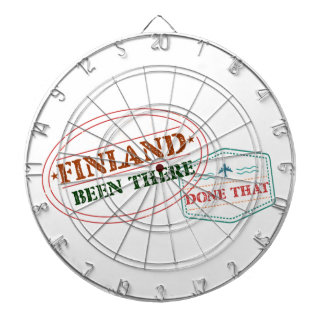 Finland Been There Done That Dartboard