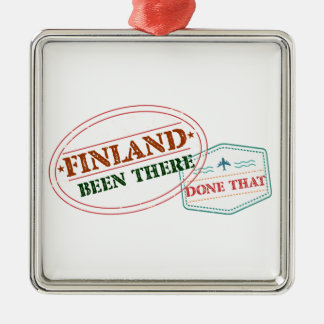 Finland Been There Done That Metal Ornament
