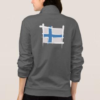 Finland Brush Flag Shirt