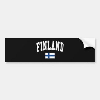 FINLAND BUMPER STICKER