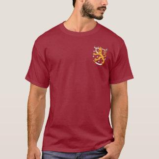 FInland Coat of Arms Lion Pocket Design T-Shirt