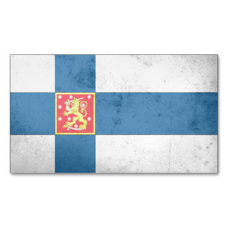 Finland Coat of Arms Magnetic Business Cards
