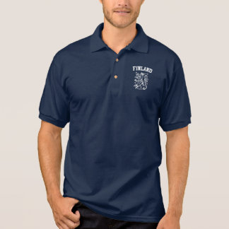 Finland Coat of Arms Polo Shirt