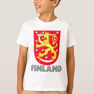 Finland Coat of Arms T-Shirt