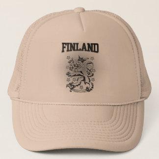 Finland Coat of Arms Trucker Hat
