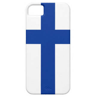 finland country flag long symbol case for the iPhone 5
