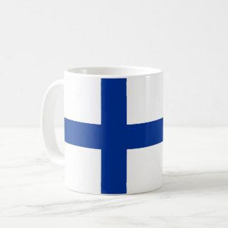 finland country flag long symbol coffee mug