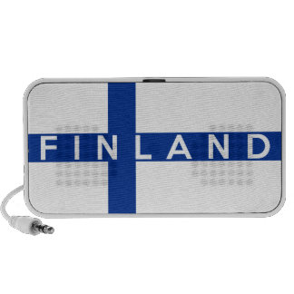 finland country flag symbol name text portable speakers