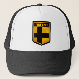 Finland Emblem Trucker Hat