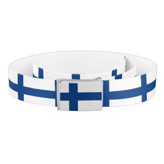 Finland Flag Belt