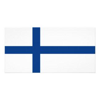Finland Flag Card