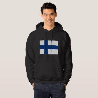 Finland Flag Hoodie