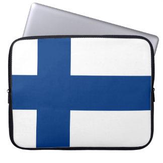 Finland Flag Laptop Sleeve